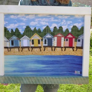 Beach Huts on Stilts