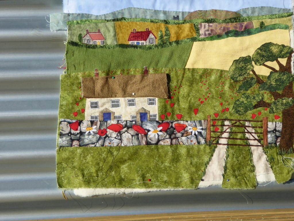 Cottage detail from the poppy picture