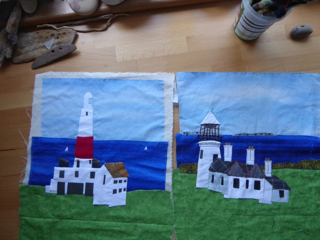 Two Lighthouses