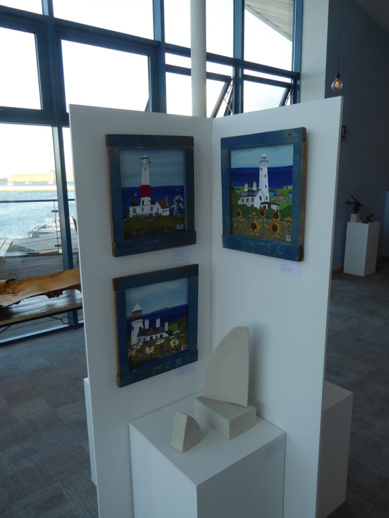 My 3 Portland Lighthouse Pictures at the Athay Gallery
