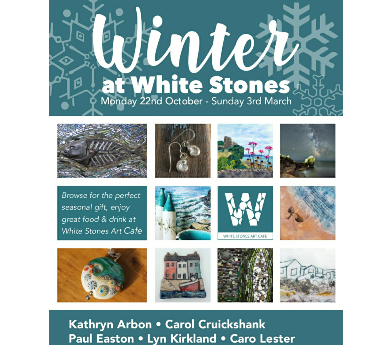 Whitestones Winter Exhibition