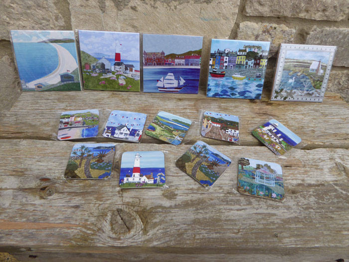 tiles and coasters