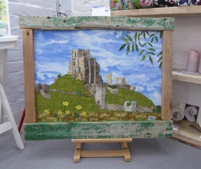 Corfe Castle at New Wave Gallery