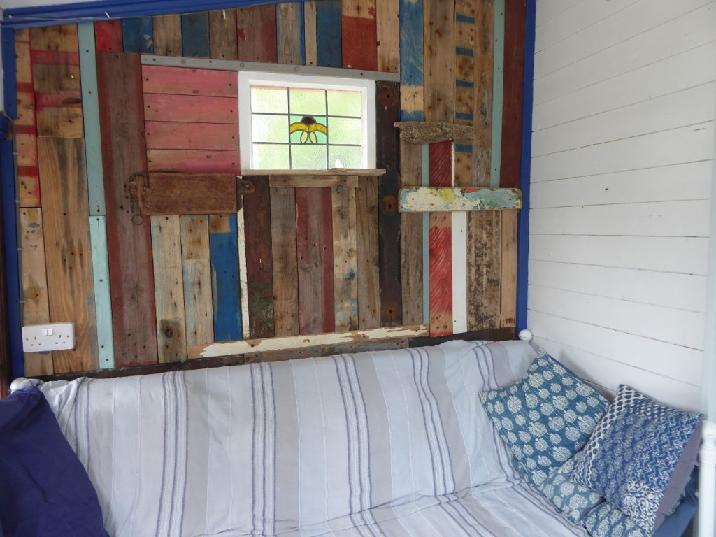 Beach Hut inside