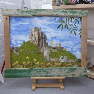 Corfe-Castle-at-New-Wave-Gallery